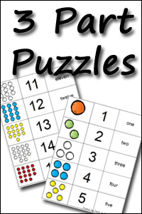 New 3 part Number Puzzles