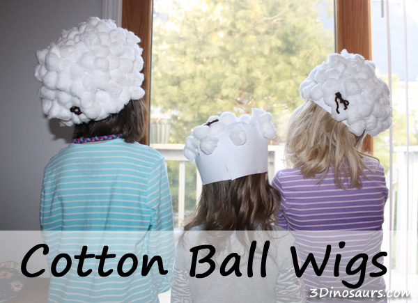 Cotton Ball Wigs