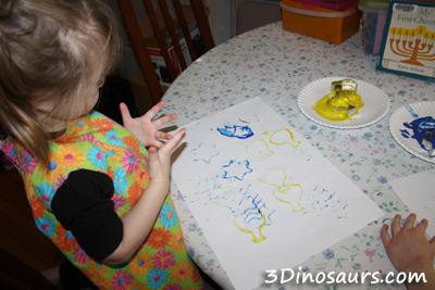 Hanukkah Stamping