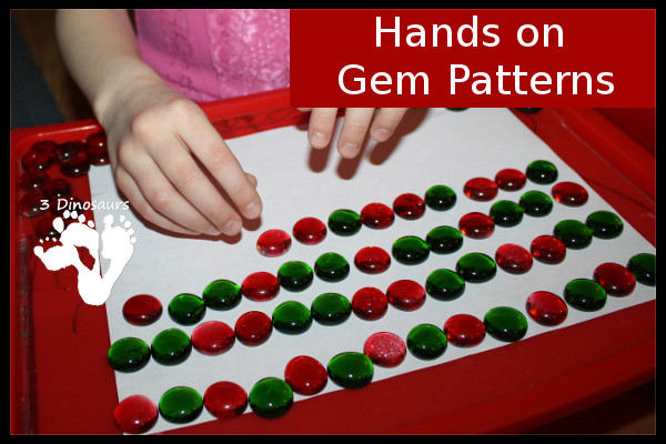 Hands On Gem Patterns by 3Dinosaurs.com