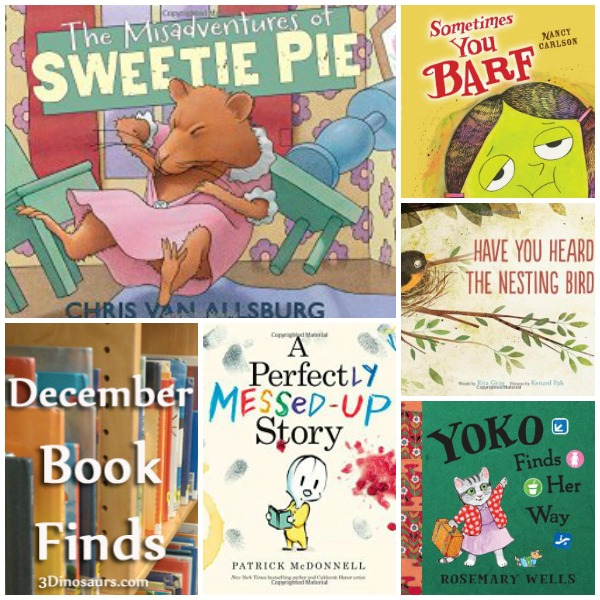 December 2014 Book Finds - 3Dinosaurs.com