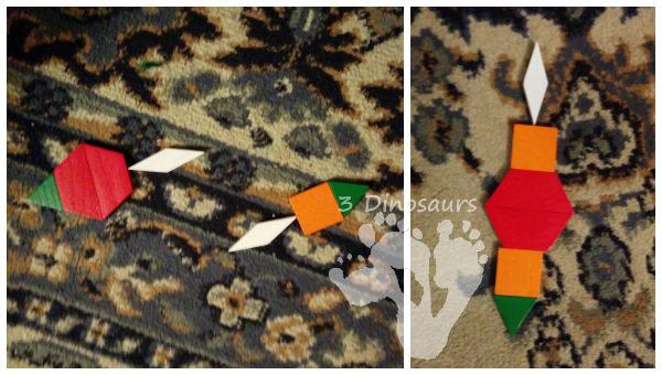 Hanukkah Pattern Block Fun - 3Dinosaurs.com