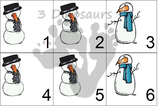 Free 2015 Winter Calendar Printable - 3Dinosaurs.com