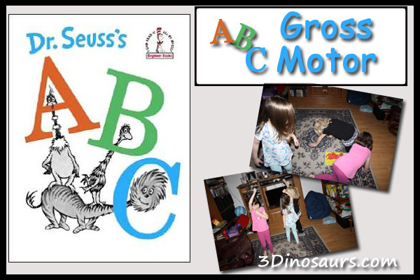 ABC Gross Motor - Dr Seuss