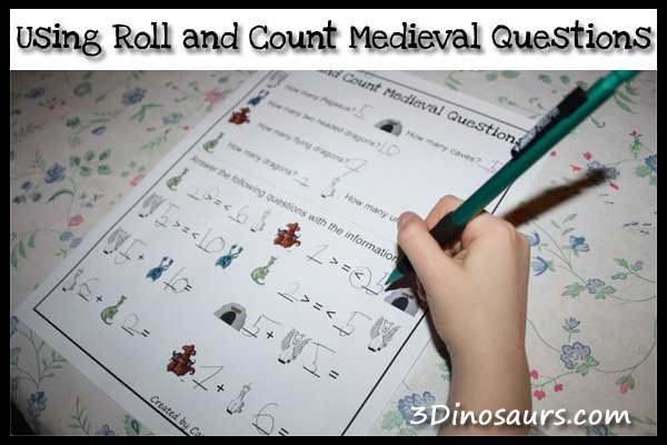 Using Roll and Count Medieval Questions