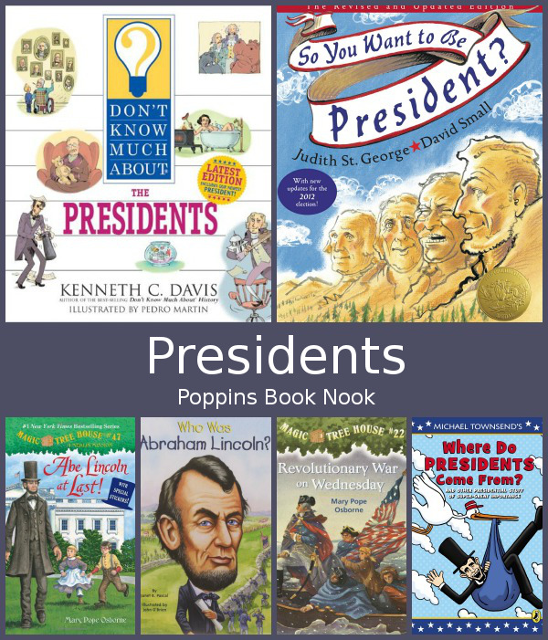 February Poppins Book Nook: Presidents