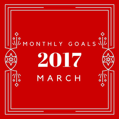 March 2017 Monthly Goals - 3Dinosaurs.com