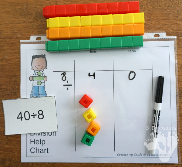 Free Place Value Mats for Multiplication & Division - 3 mats for multiplication and division with different levels of place value. - 3Dinosaurs.com