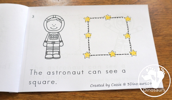 Space Activities Pack for Prewriting, Shapes, ABCs, and Numbers - 189 pages of activities with no-prep worksheets, easy reader books, clip cards and tracing strips. All to help have fun with planets, rockets and moons in easy to prepare pages and hands-on activities  - 3Dinosaurs.com