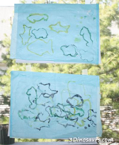 Fish Stamp Ocean