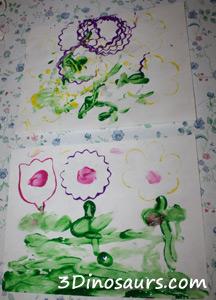 Spring Stamping Flowers
