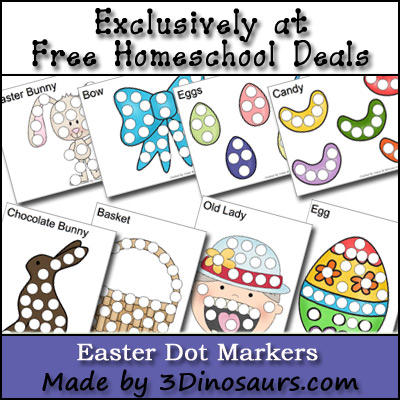 Free Easter Dot Markers