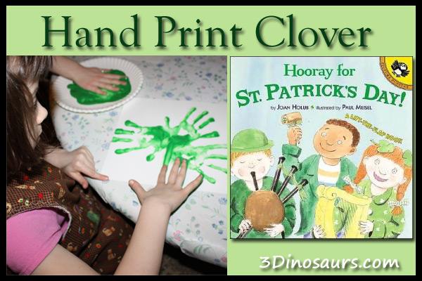 Hand Print Clover
