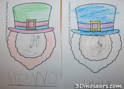 Pick and Draw Leprechaun