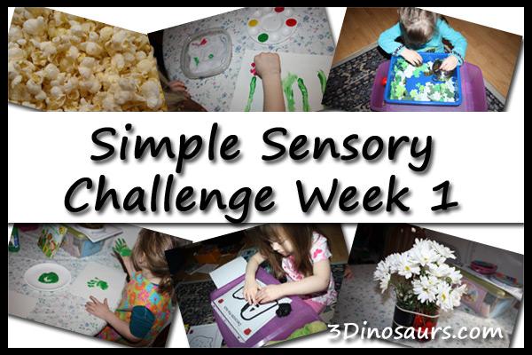 Simple Sensory Challenge Week 1