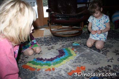 Tissue Paper Rainbow