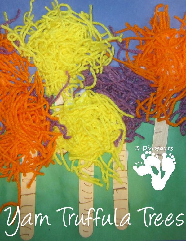 Yarn Truffula Trees - 3Dinosaurs.com