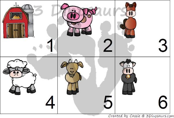Free 2015 Farm Calendar - 3Dinosaurs.com