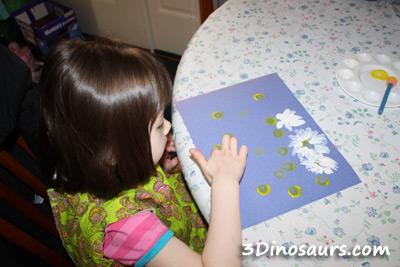 Fingerprint Daisies