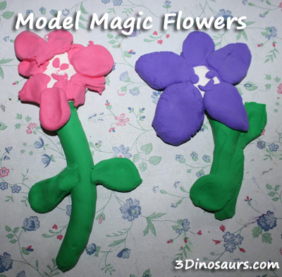 Model Magic Flowers