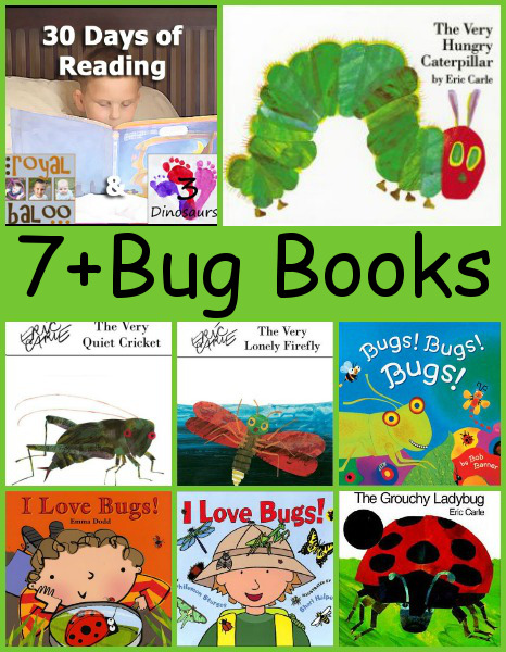 Reading Challenge Week 2: Bug Books!