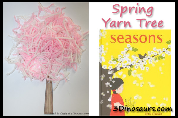 Spring Yarn Tree – Seasons – Spring Dot Printables