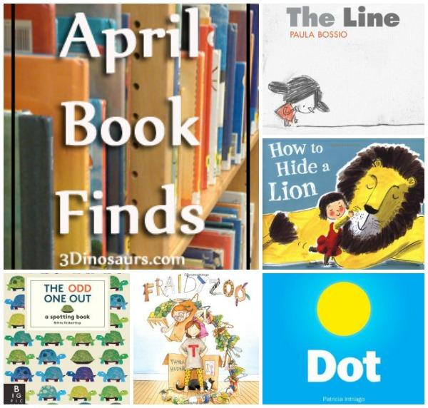 Book Finds April 2014 - 3Dinosaurs.com