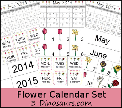 free flower printables and activities