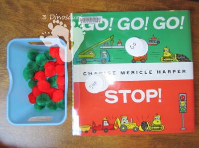 Go, Go, Go, Stop - Traffic Light Fun - 3Dinosaurs.com