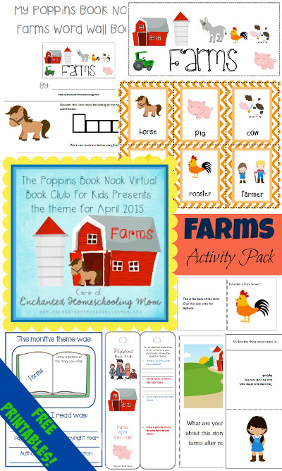 April Poppins Book Nook: Farm - 3Dinosaurs.com