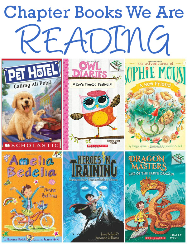 Chapter Books We Are Exploring Spring 2015: Pet Hotel, Amelia Bedelia, Owl Diaries, Sophie Mouse, Heroes in Training & Dragon Masters  - 3Dinosaurs.com