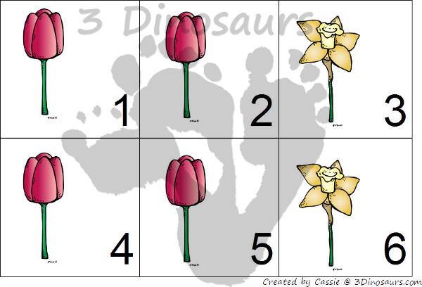 Free 2015 Flower Calendar - 3Dinosaurs.com