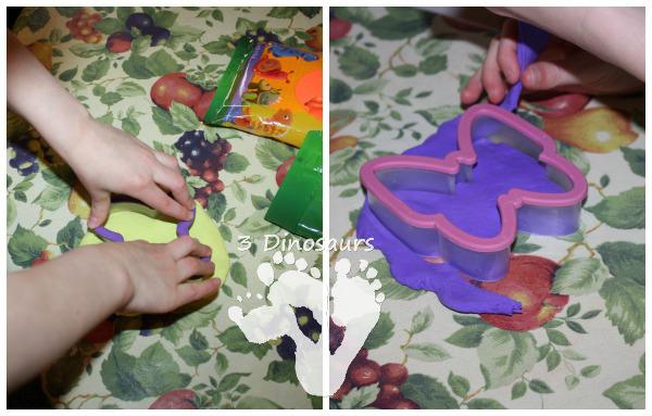 Model Magic Butterflies - 3Dinosaurs.com