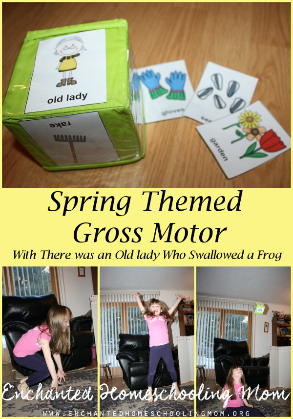 Spring Themed Gross Motor - 3Dinosaurs.com