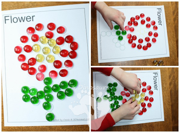 Ways to Use the Spring Dot Marker Printables - 3Dinosaurs.com
