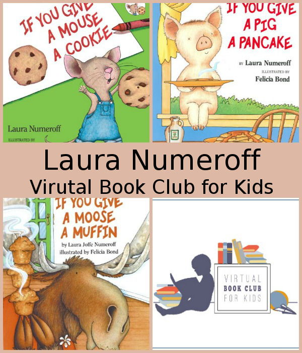 April Virtual Book Club: Laura Numeroff - 3Dinosaurs.com