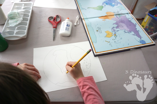 Earth Day Art Projects Paintings
