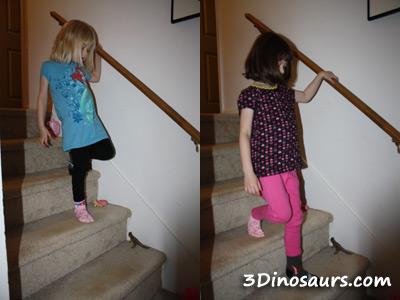 Alternating On Stairs