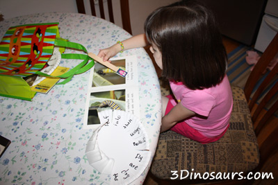 Early Reader Paper Plate