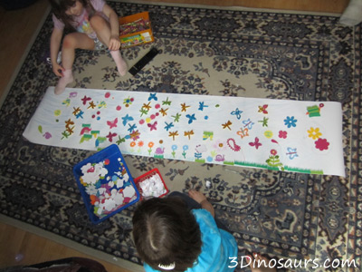 Spring Mural - 100 Days of Play