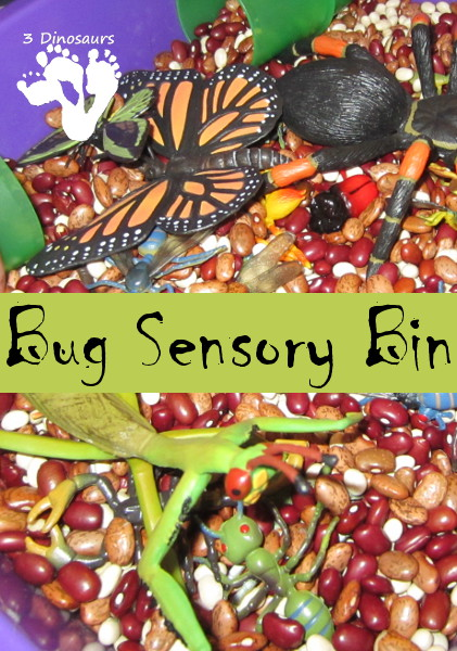 Bug Sensory Bin - 3Dinosaurs.com