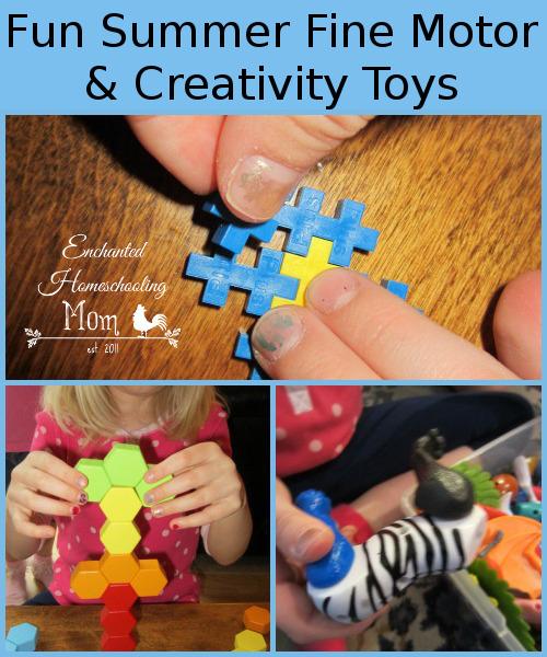 Fun Summer Fine Motor & Creativity Toys - 3Dinosaurs.com