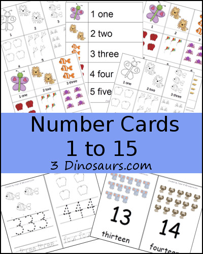Collection of ABC & Number Cards & 20% off Sale