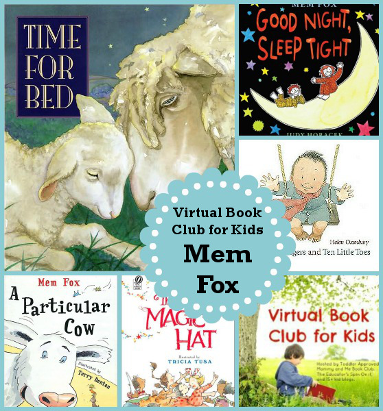 May Virtual Book Club for Kids: Mem Fox - 3Dinosaurs.com