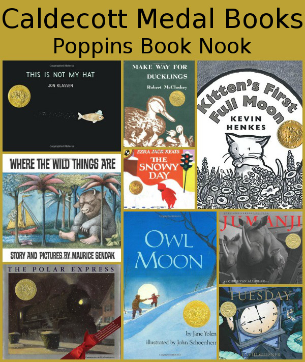 May Poppins Book Nook: Caldecott Medal Books - 3Dinosaurs.com