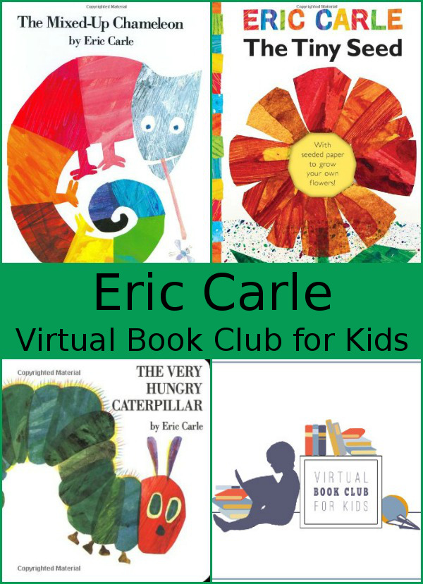 May Virtual Book Club: Eric Carle - 3Dinosaurs.com