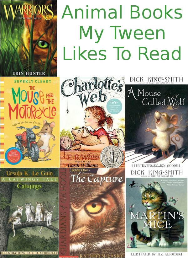 Animal Books My Tween Likes To Read - 3Dinosaurs.com