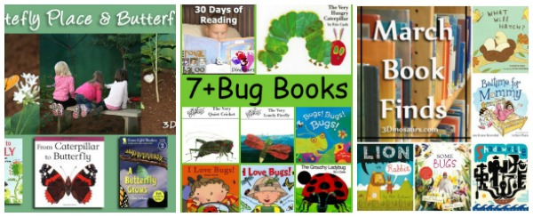 Bug & Insect printables, craft and books and more - 3Dinosaurs.com
