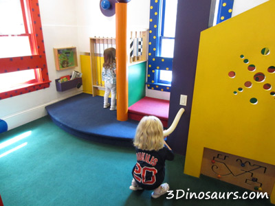 Children's Discovery Museum sensory Exploration Room