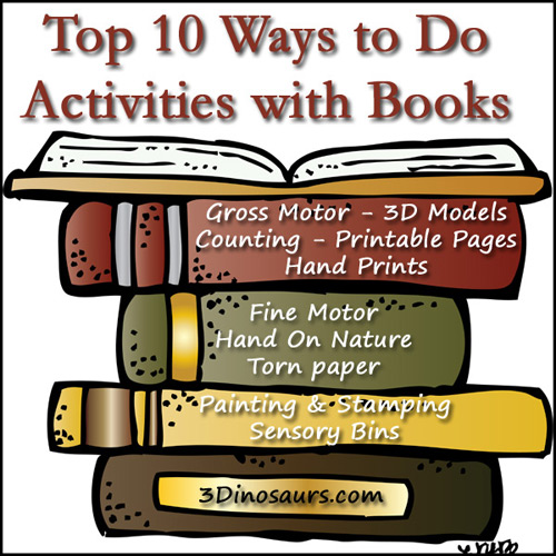 Schools Out! Top 10 Ways to Do Activities with Books